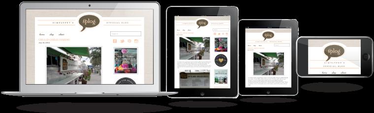 portafolio SPLOG diseño web responsivo